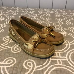 Sperry gold top-siders